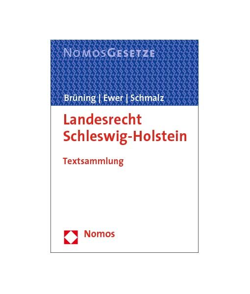 jurcase-gesetzestext-kommentar-mieten-kaufen-Nomos_Schleswig-Holstein