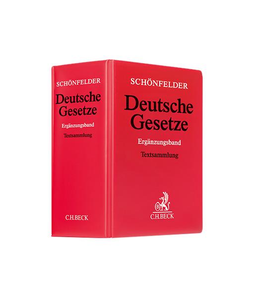 jurcase-gesetzestext-kommentar-mieten-kaufen-Schönfelder_Ergänzungsband