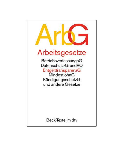 jurcase-gesetzestext-kommentar-mieten-kaufen-DTV-ArbG