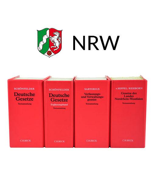 JurCase-Shop Gesetzestexte Lernpaket NRW