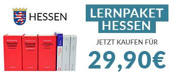 JurCase-Shop Lernpaket HESSEN