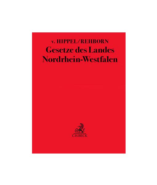 Ergänzungslieferung v. Hippel/Rehborn Gesetze des Landes Nordrhein-Westfalen