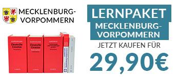 JurCase-Shop Lernpaket Mecklenburg-Vorpommern