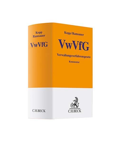 Kopp Ramsauer VwVfG kaufen Verwaltungsverfahrensgesetz Kommentar JurCase-Shop