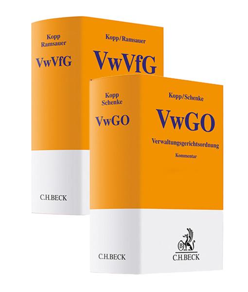 Kopp Schenke VwGO kaufen Kopp Ramsauer VwVfG JurCase-Shop