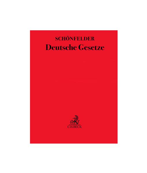 Ergänzungslieferung Schönfelder Deutsche Gesetze