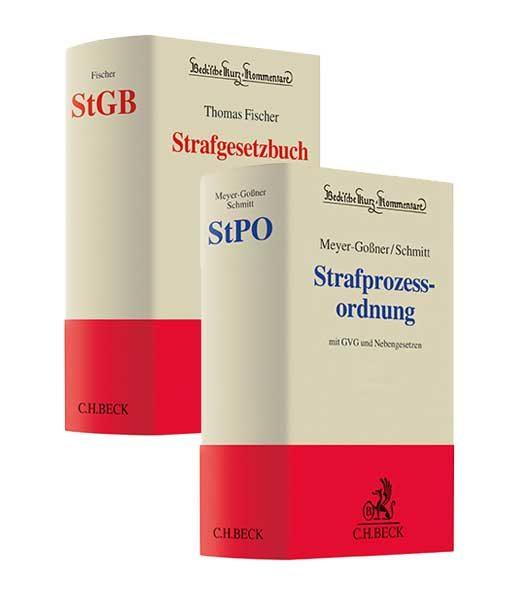 Fischer StGB 64. Auflage und Meyer-Goßner / Schmitt StPO 60. Auflage
