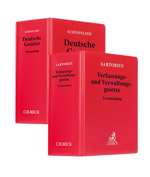 Sartorius Verfassungs-und-Verwaltungsgesetze kaufen Schönfelder Gesetzestext JurCase-Shop