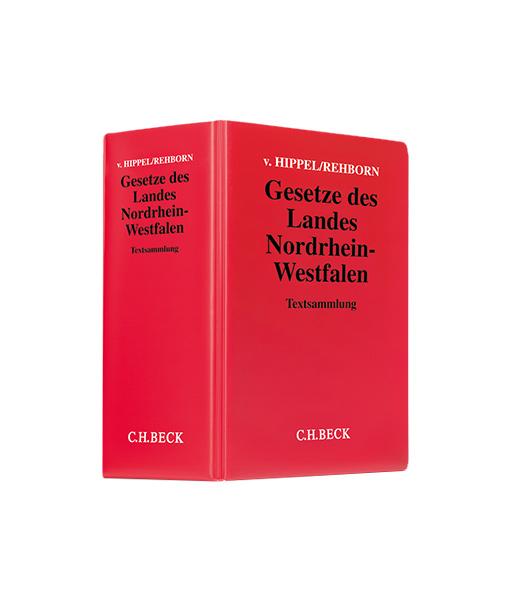 v. Hippel / Rehborn Gesetze des Landes Nordrhein-Westfalen in der 133. Auflage kaufen auf JurCase-Shop.com
