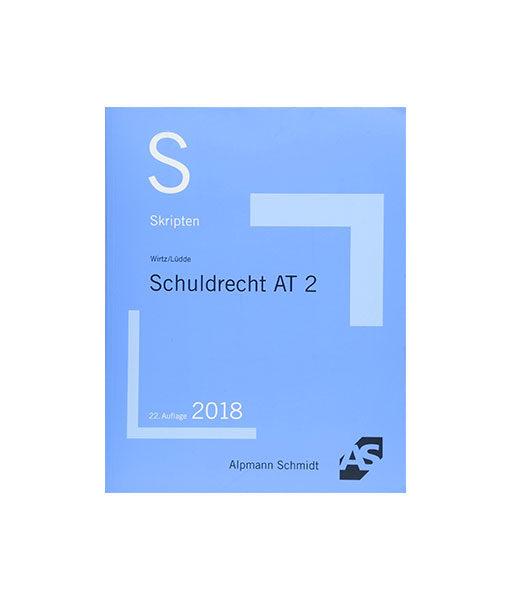 Alpmann-Schmidt_Wirtz-Lüdde-Skript-Schuldrecht-AT-2_JurCase-Shop