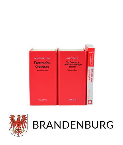 JurCase-Shop Lernpaket Brandenburg Gesetzestexte