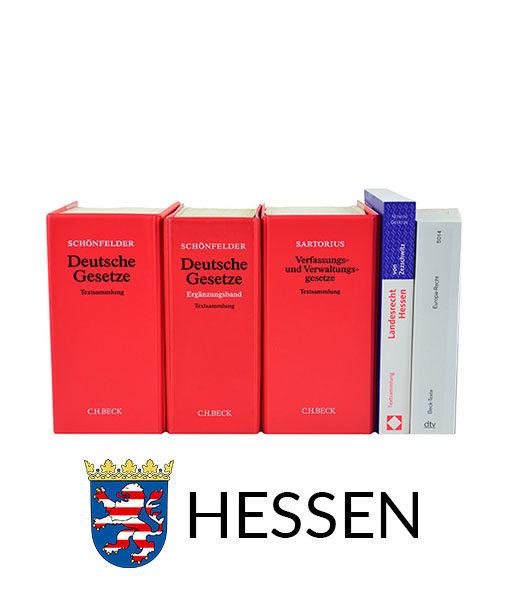 JurCase-Shop Lernpaket Hessen Gesetzestexte