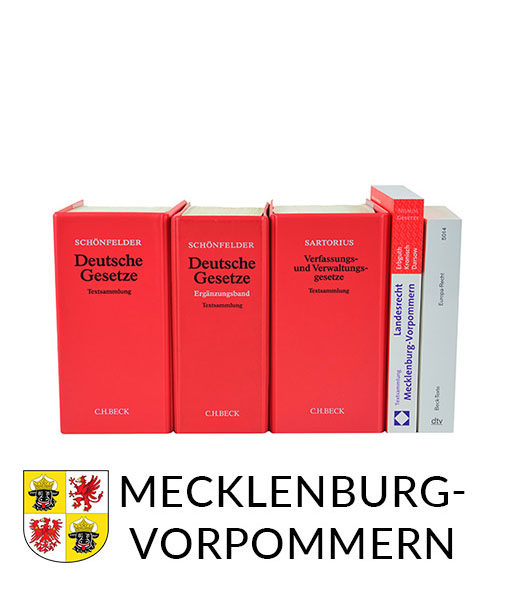 JurCase-Shop Lernpaket Mecklenburg-Vorpommern Gesetzestexte