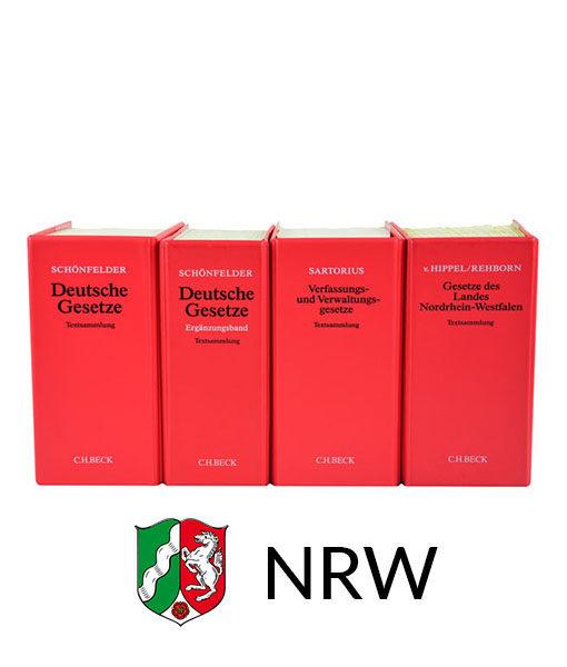JurCase-Shop Lernpaket NRW Gesetzestexte