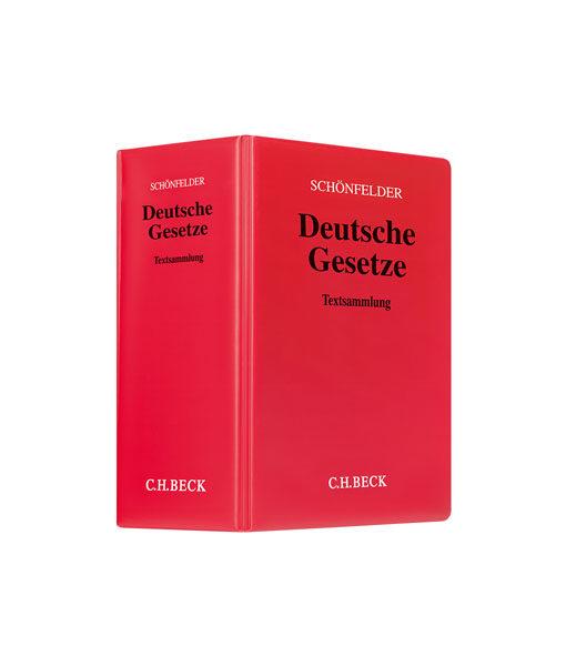 JurCase-Shop_Schönfelder-Deutsche Gesetze_176. Auflage