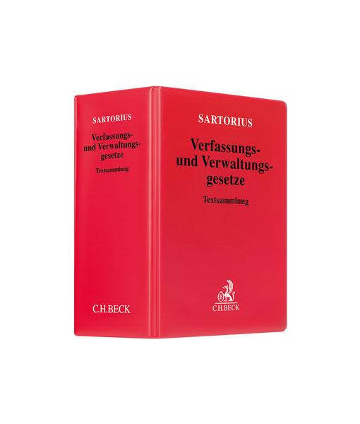 JurCase-Shop_Sartorius_Verfassungs_Verwaltungsgesetze_123. Auflage_kaufen
