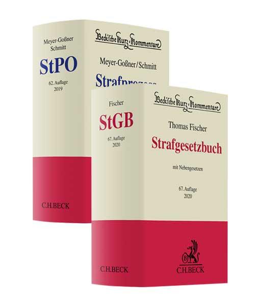 Fischer-StGB-66.-Auflage-und-Meyer-Goßner-Schmitt-StPO-61.-Auflage_Vorauflagen-Paket_JurCase-Shop