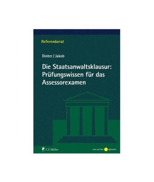 JurCase-Shop_Dinter_Jakob_Die-Staatsanwaltsklausur--Prüfungswissen-für-das-Assessorexamen