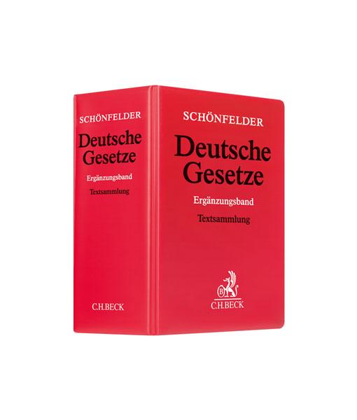 JurCase-Shop_Schönfelder Ergänzungsband_62. Auflage_kaufen