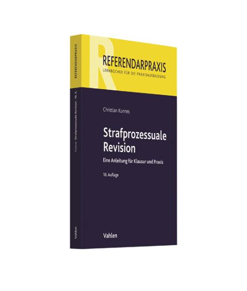 Referendarpraxis Kunnes Strafprozessuale Revision 10 Auflage
