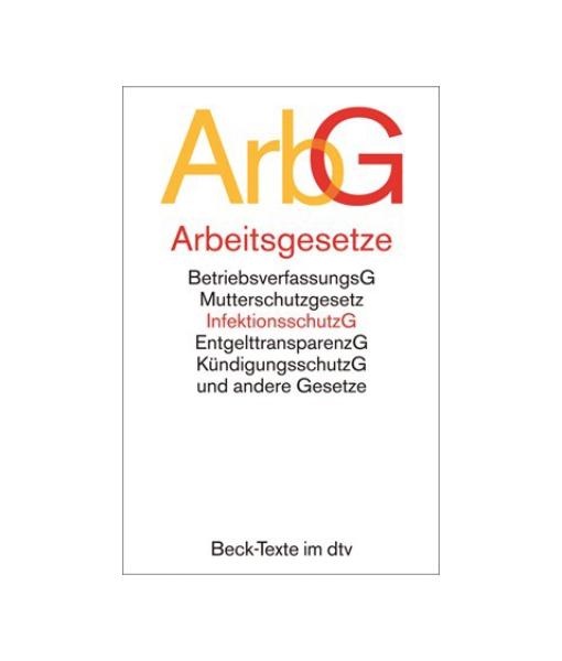ArbG Arbeitsgesetze Beck