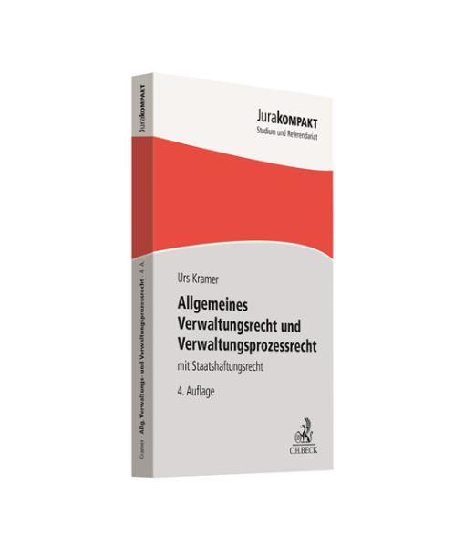 JuraKompakt Urs Kramer Verwaltungsrecht und Prozessrecht 4 Auflage